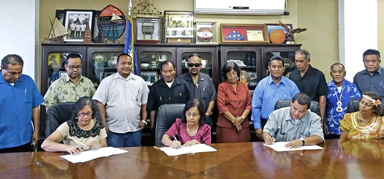 Leaders sign plan of action
