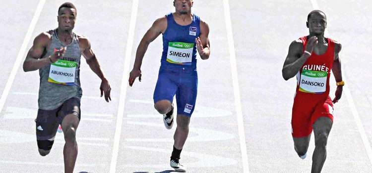 Richson's Olympic dream run