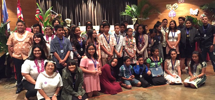 Hawaii students honored