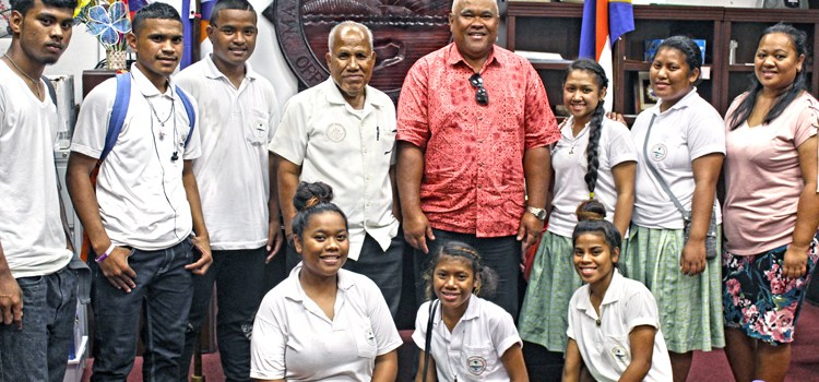 Ebeye students get a taste of Majuro