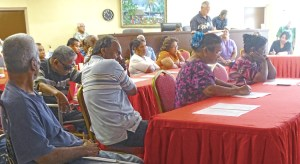 "About 50 people turned out for an ""access to justice"" workshop sponsored by the Marshall Islands courts with support of the Pacific Judicial Strengthening Initiative. Photo: Kelly Lorennij."