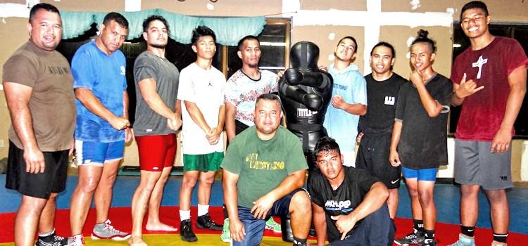 RMI wrestlers head to Yap