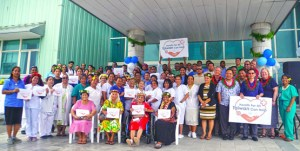 Nurses were recognized during a ceremony at the Ministry of Health on May 7. Photo: ROC Embassy.