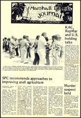 Imada jailed at Kwajalein