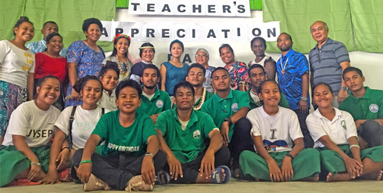 Teachers honored on Ebeye