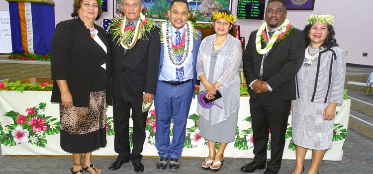 David Kabua takes the helm