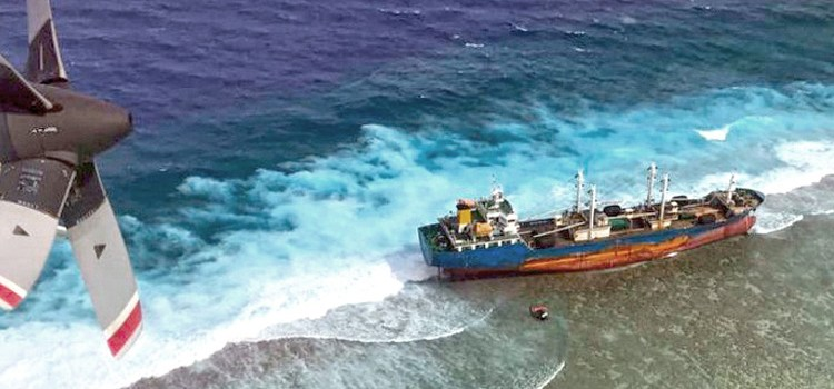 RMI sues over vessel grounding