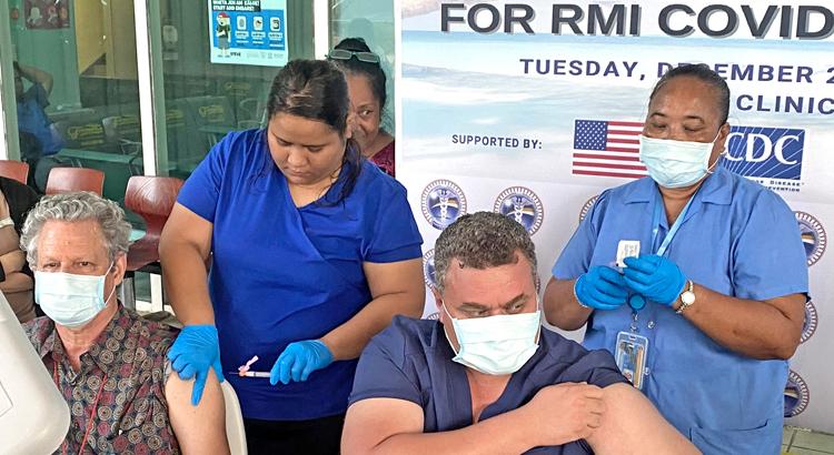 More Covid vaccines hit RMI