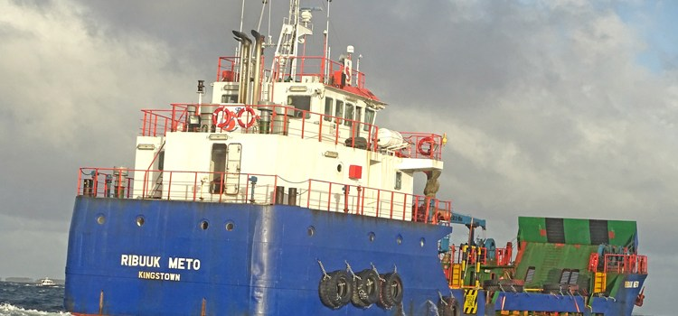 New vessel arrives Majuro