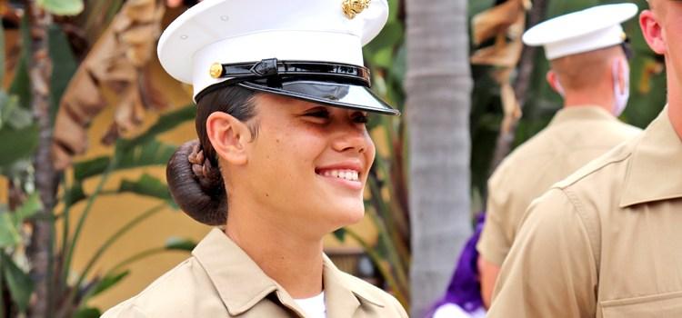 New Marine: 'I'd do it again'