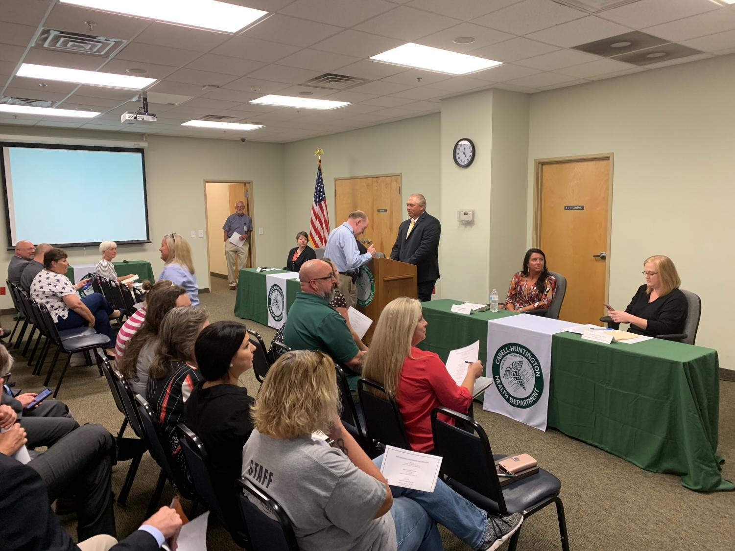 Huntington Community Discusses Hiv Cluster Harm Reduction Programs During Public Meeting The