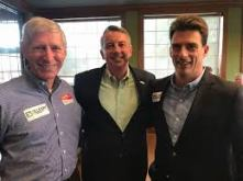 Campaigning with Delegate Steve Landes and Ed Gillespie