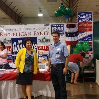 Representing the GOP at the Rockingham County Fair