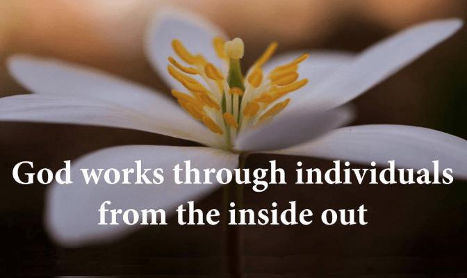 God works through individuals - thumb