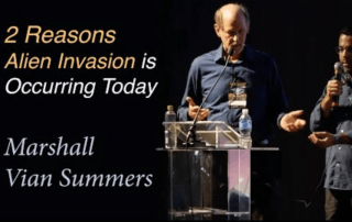 why an alien invasion is occurring today