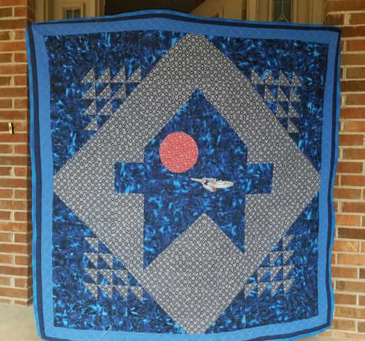 Star Trek Quilt for Teresa