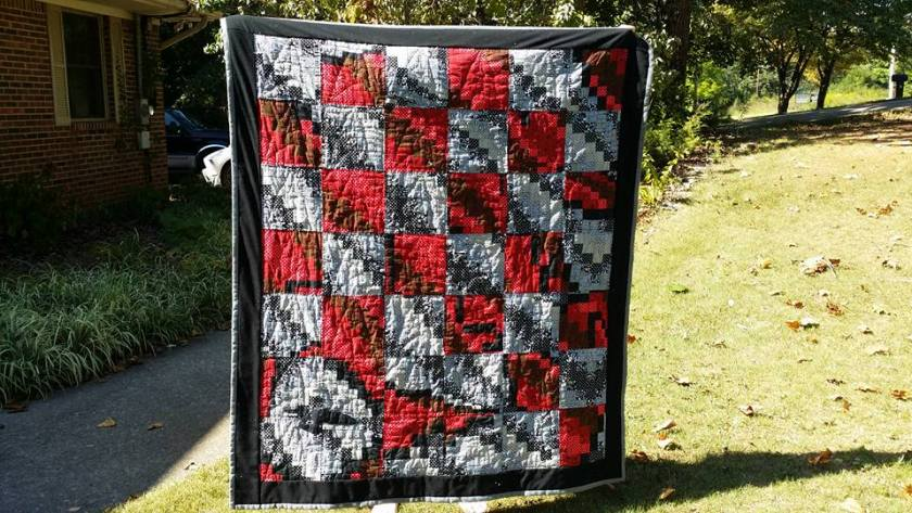 Star Trek Quilt Bargello