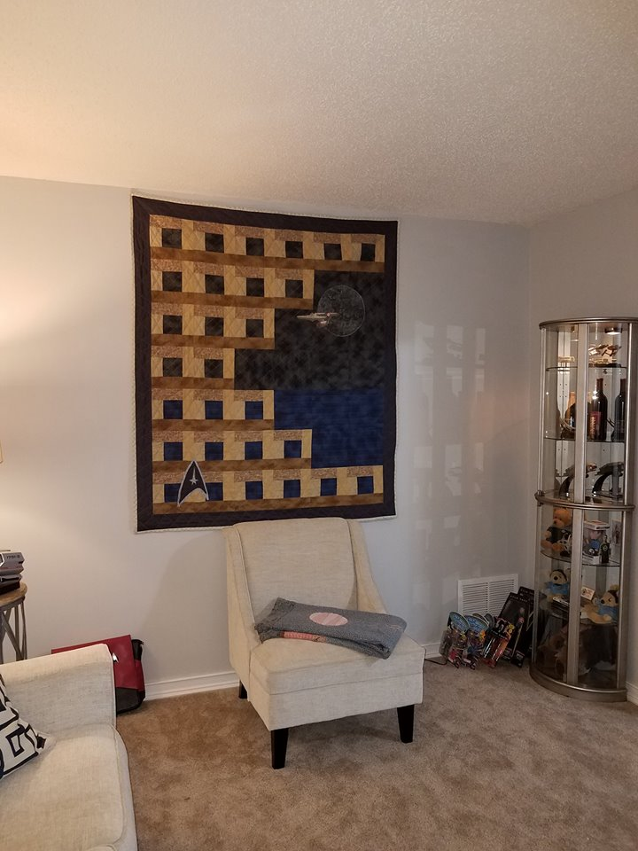 Star Trek Quilt for Dad 2