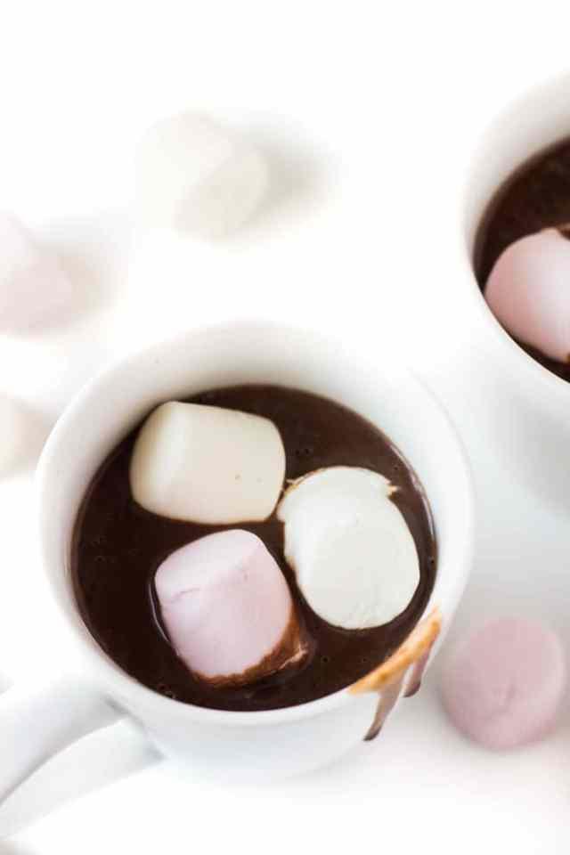 Thick and Creamy Hot Chocolate   Marsha's Baking Addiction