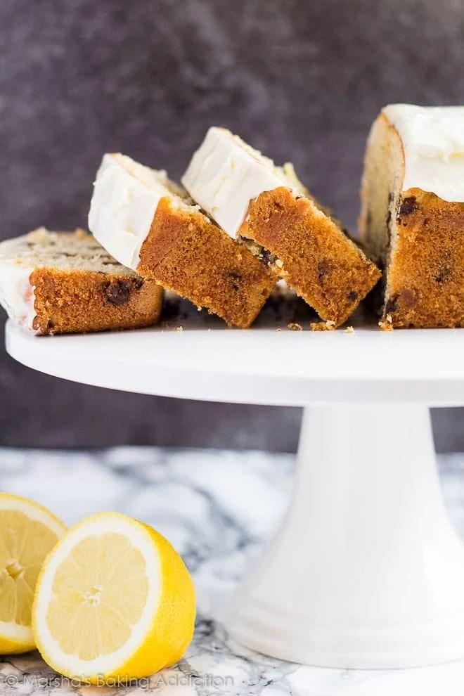 Chocolate Chip Lemon Bread   Marsha's Baking Addiction