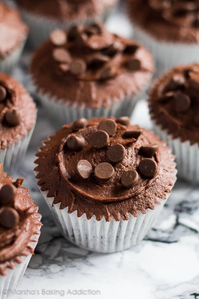 Double Chocolate Cupcakes | Marsha's Baking Addiction