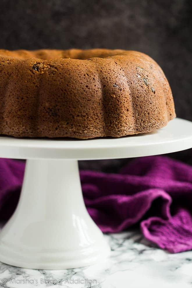 Cranberry Orange Bundt Cake | marshasbakingaddiction.com @marshasbakeblog