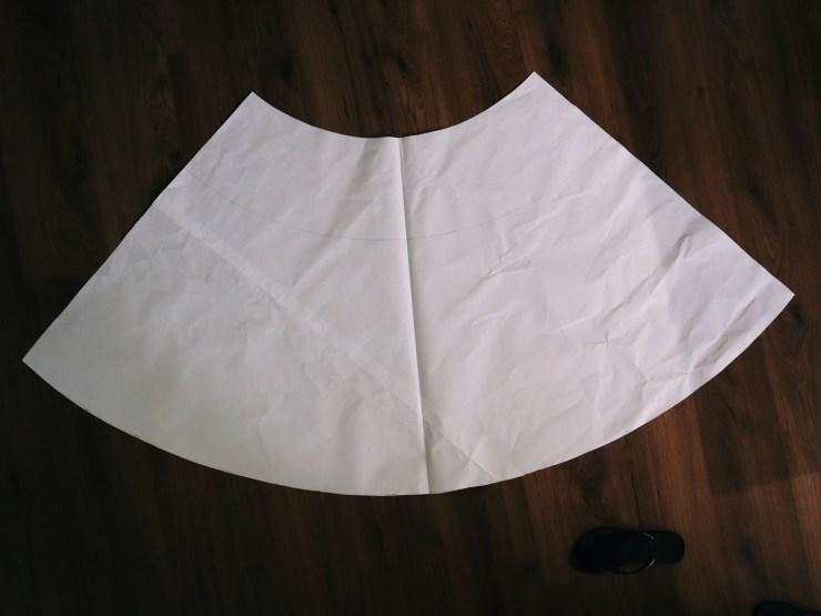 Base pattern piece