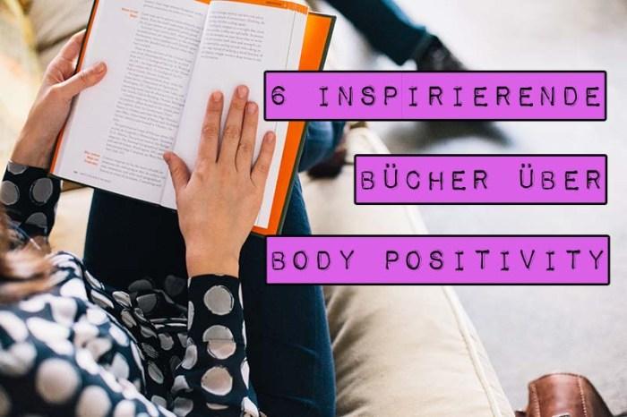 Das Konzept der Body Positivity setzt sich langsam auch auf dem deutschen Markt durch. In der letzten Zeit ist deshalb mehr und mehr Literatur zu diesem Thema erschienen, die aufklären und emanzipieren will. Marshmallow Mädchen stellt dir sechs inspirierende Bücher über Body Positivity vor.