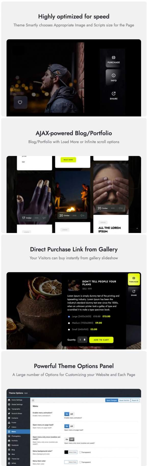 Marshmallow - Photographer WordPress Theme - 6