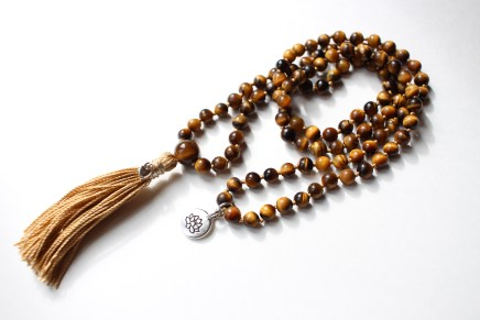 Tiger's Eye, 108 6mm Bead Mala