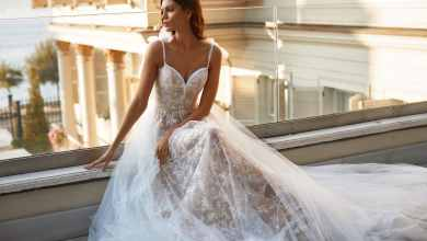 فستان الزفاف الأنسب لجسم المثلث المقلوب