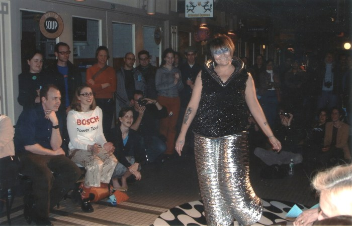 Mutation (fashion label), model: Diamond, Providence 2003
