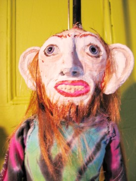 """Terry (Linda's Dealer)"", Puppet Trash, 2004, AS220, Providence, photo: Marsian De Lellis"