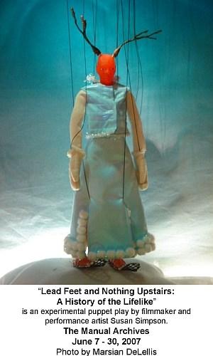 Marionette created by Susan Simpson, 2007, Photo: Marsian De Lellis