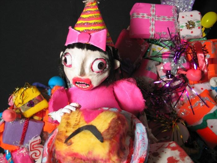 Growing Up Linda: Birthday Trauma, ©2005, Marsian De Lellis