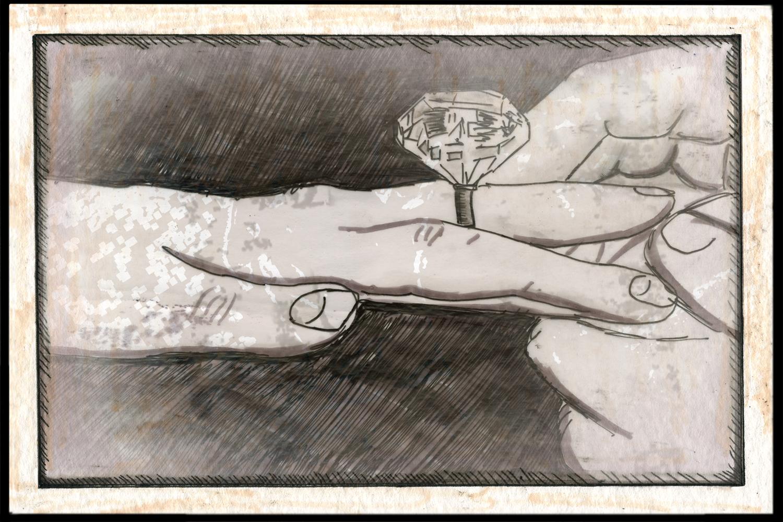 2009, Drawing: Marsian De Lellis