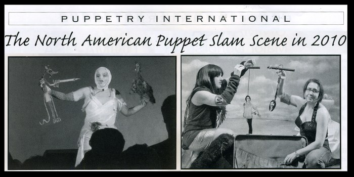Puppetry International Fall/Winter 2010