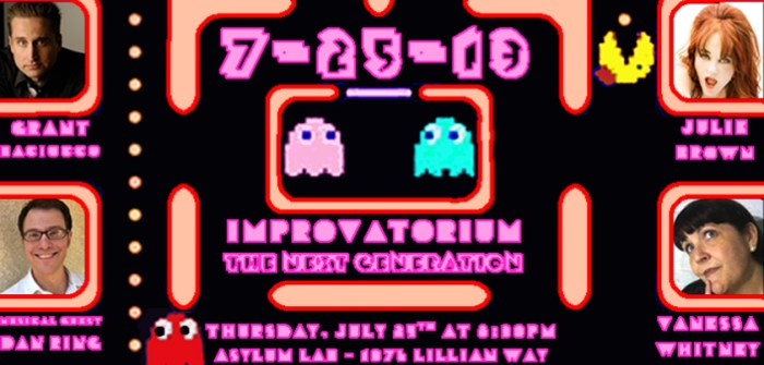 Improvatorium - The Next Generation, July 25th, 2013, poster: Marsian De Lellis