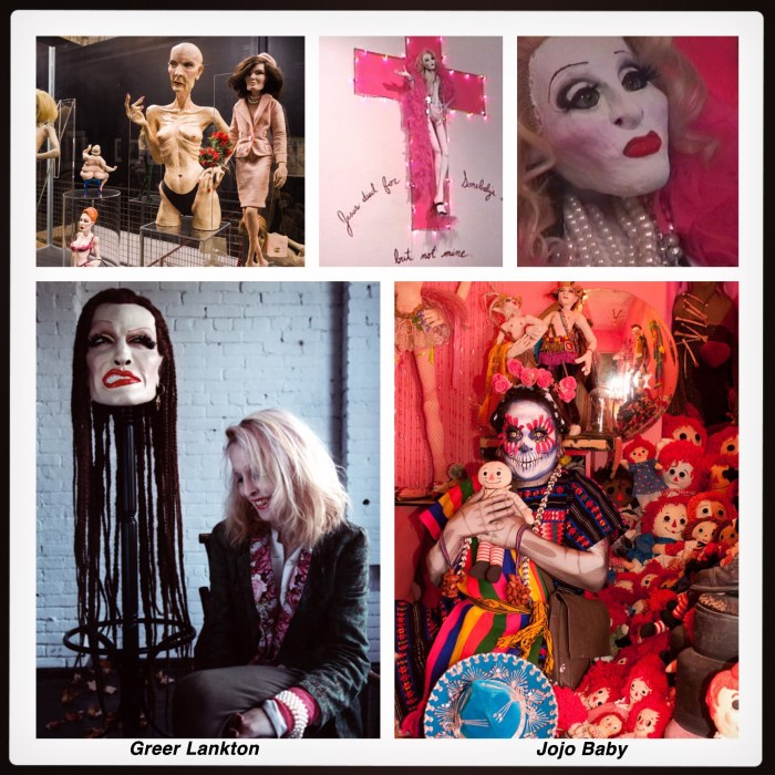 (clockwise) Karl Peterson, Marsian De Lellis, Annie O'Neill/Mattress Factory, Chicago Reader
