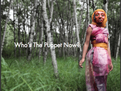 """""""Who's The Puppet Now?"""", CAOS (Calgary Animated Objects Society), 2015"""