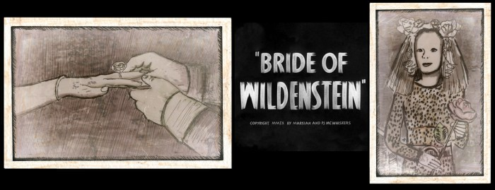 Bride of Wildenstein - The Musical, ©2009 Marsian De Lellis