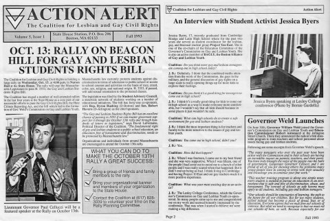 1993-09-01-CLGCR-AA2up-ed-100dpi LGBT Coalition for Lesbian and Gay Civil Rights action alert 1993