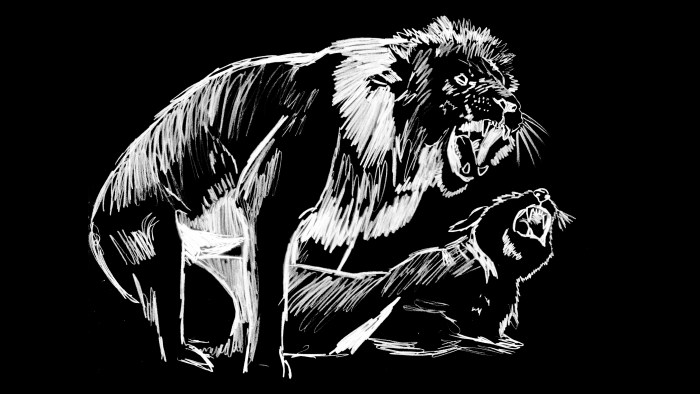 Lions Fuck, 2008, Marsian De Lellis