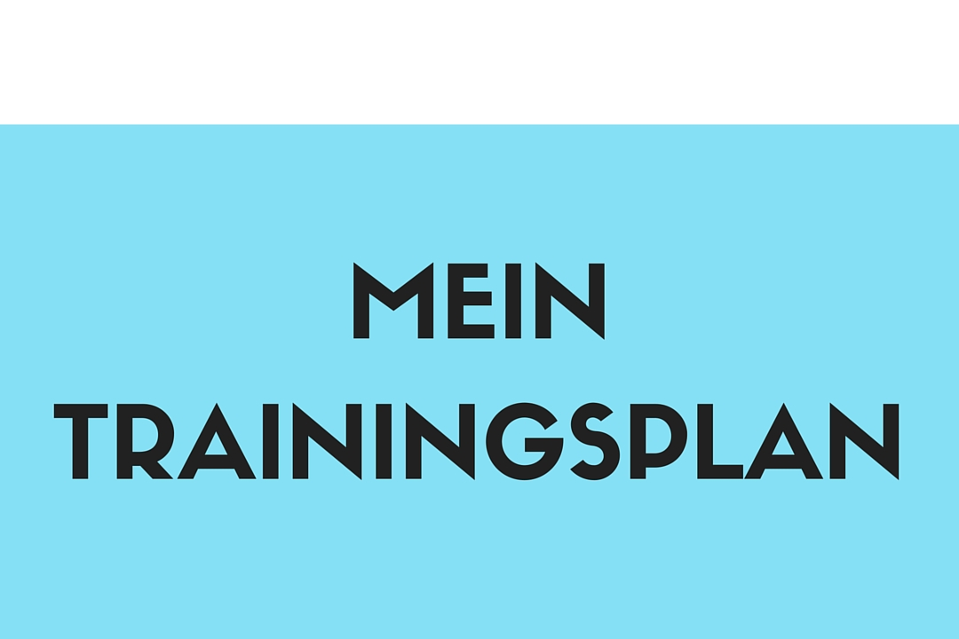 Mein Trainingsplan