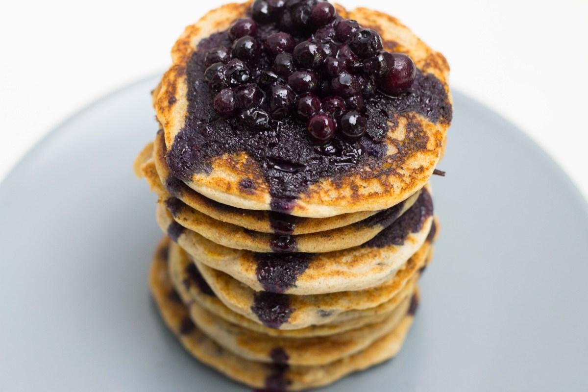 Leerer Kühlschrank-Pancakes mit nur drei Zutaten
