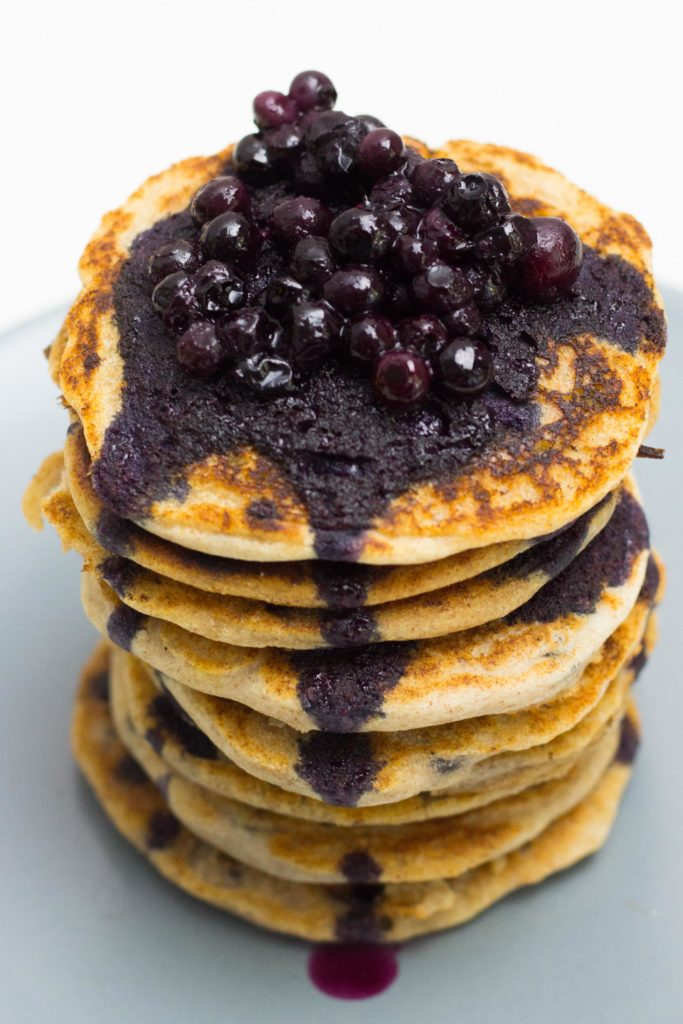 glutenfreie Pancakes ohne Ei