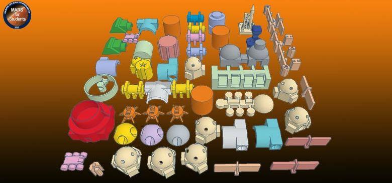 Masaüstü Mini Mars Üssü