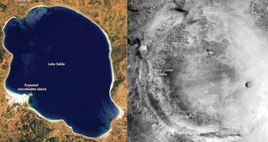 Mars'taki Jezero Krateri ve Salda Gölü Benzerliği