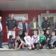 Inauguration des vestiaires de foot Marsonnas