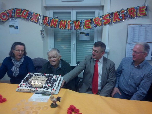 Marcel BERNIGAUD 100 ans